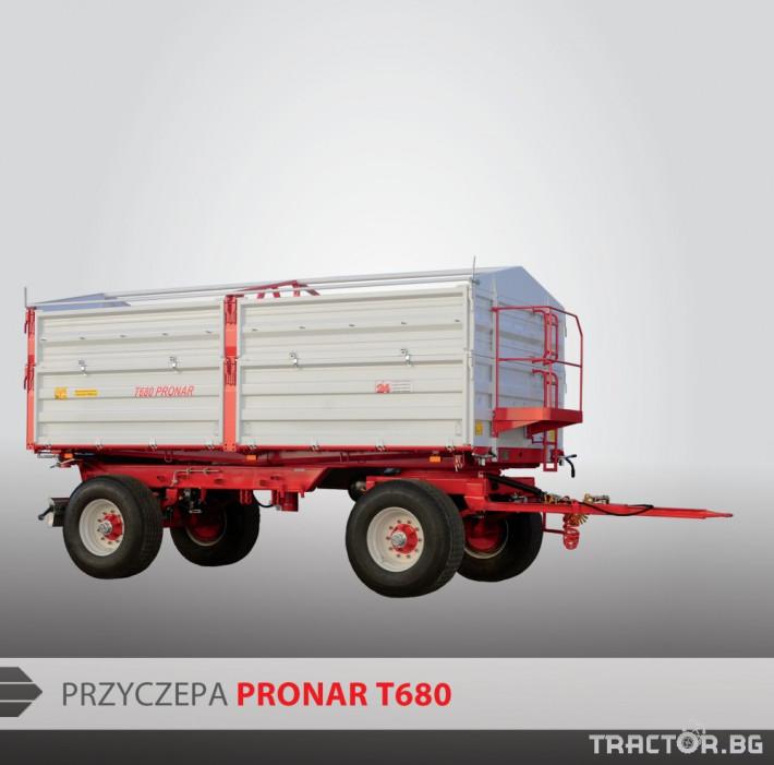 Ремаркета и цистерни Pronar PRONAR Т680 1 - Трактор БГ