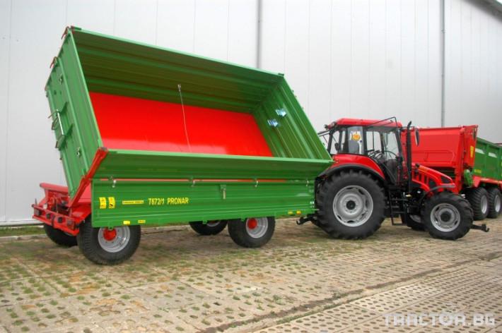 Ремаркета и цистерни PRONAR Т672/1 0 - Трактор БГ
