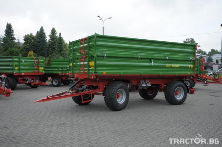Ремаркета и цистерни PRONAR Т672/1 2 - Трактор БГ