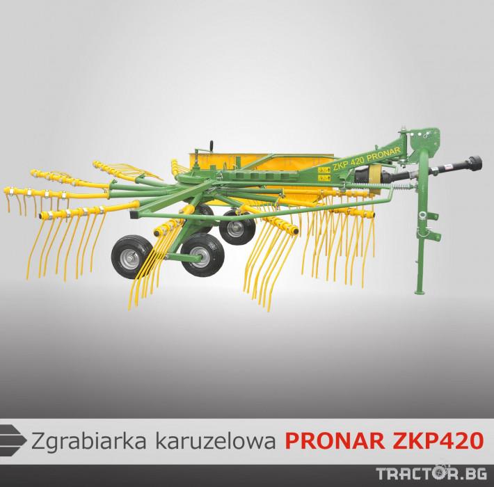 Други PRONAR Сеносъбирач ZKP 420 0 - Трактор БГ