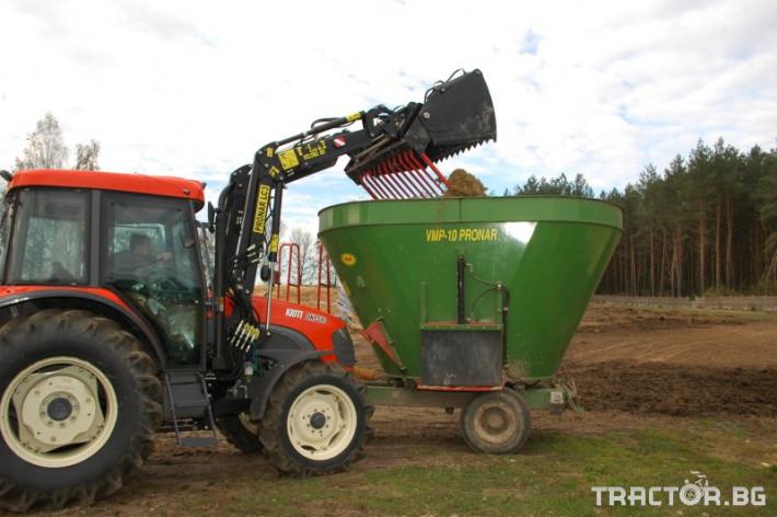 Машини за ферми PRONAR фуражосмесител VMP 10 1 - Трактор БГ