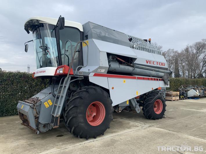 Комбайни Vector 410 0 - Трактор БГ